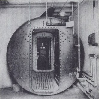 Ernest William Moir - Moir's airlock of 1889 first used while building the  Hudson River Tunnel in New York City