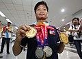 Ernie Gawilan Asian Games 2018 medals.jpg