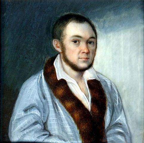 Портрет Петра Ершова петербургского периода, приписываемый кисти академика живописи Михаила Ивановича Теребенёва