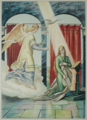 Es ist ein Ros entsprungen - Die Verkündigung der Geburt Jesu - The Annunciation of the birth of Jesus.png