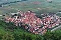 Eschbach (Pfalz), view from the Madenburg to the village.jpg