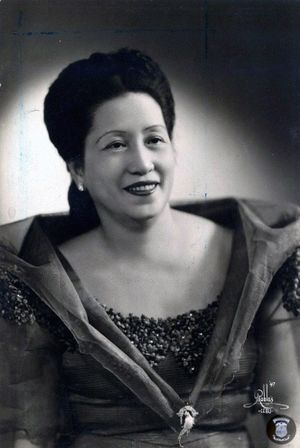 First Lady or First Gentleman of the Philippines - Image: Esperanza Osmena (Malacanang photo)