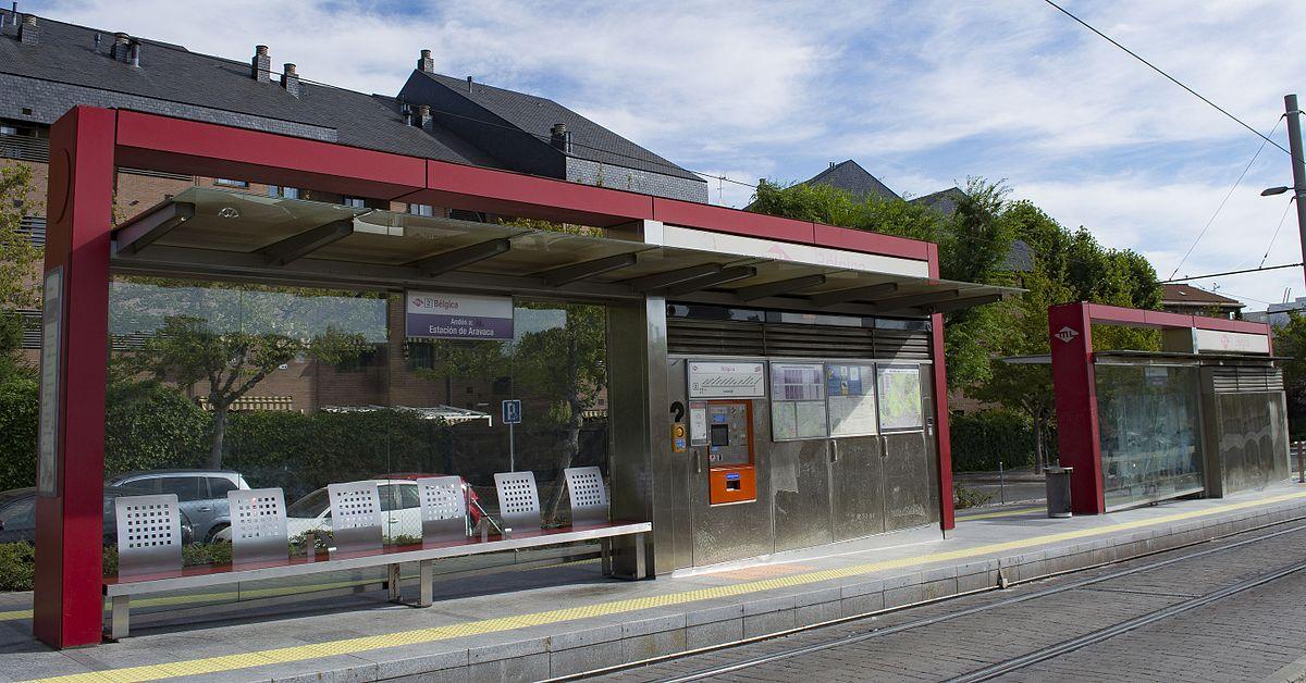 B lgica wikidata for Metro ligero colonia jardin