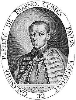 Eszterházy Pál Widemann