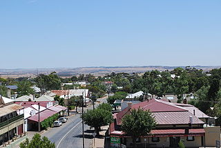 Eudunda Town in South Australia