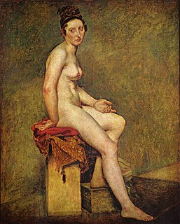 <i>Mademoiselle Rose</i> painting by Eugène Delacroix