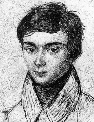 Évariste Galois - A portrait of Évariste Galois aged about 15
