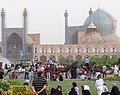 Evening Scene in Imam Square (Naqsh-e Jahan) - Isfahan - Central Iran (7453779894) (Cropped).jpg