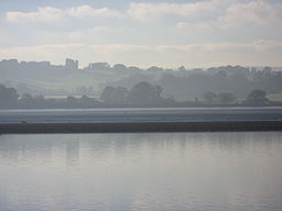 none The Exe Estuary with Powderham Castle in the background
