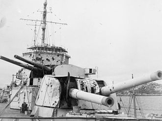HMS Exeter (68) - Damage received by Exeter during the Battle of the River Plate
