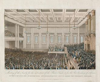 Niger expedition of 1841 - Exeter Hall meeting of 1 June 1840.