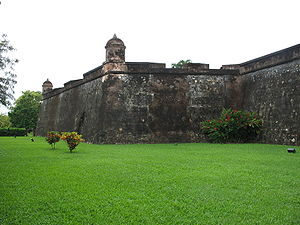 Honduras - The Fortaleza de San Fernando de Omoa was built by the Spanish to protect the coast of Honduras from English pirates.