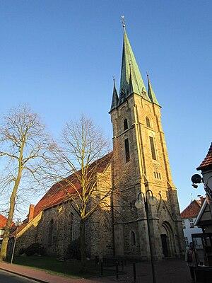 Fürstenau, Lower Saxony - Church in Fürstenau
