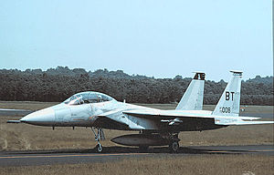 525th Fighter Squadron - McDonnell Douglas F-15D-25-MC Eagle Serial 79-0008 of the 525th Tactical Fighter Squadron