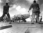 F4F-4 Wildcat of VF-10 aboard USS Enterprise (CV-6) on 26 October 1942.jpg