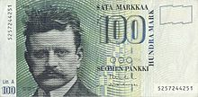 100 markkaa reverse