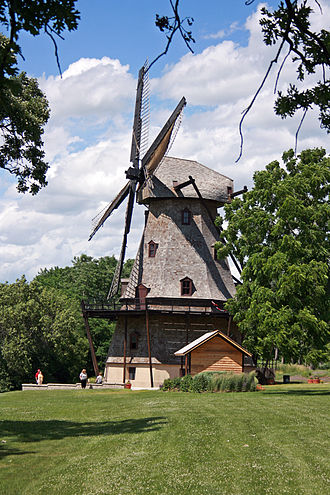 Geneva, Illinois - Fabyan Windmill