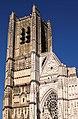 Facade occidentale de la cathédrale Saint-Etienne d'Auxerre.jpg