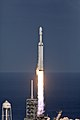 Falcon Heavy clearing the tower 03.jpg