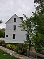 Feake Ferris House in Greenwich CT Connecticut USA sideview with gardens.jpg