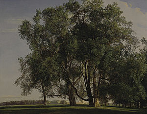 Ferdinand Georg Waldmüller - Prater Landscape, 1830