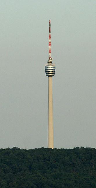Fritz Leonhardt - First modern TV Tower in Stuttgart