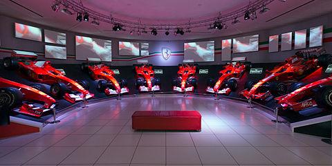 Ferrari championship winning cars Museo Ferrari