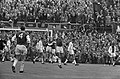 Feyenoord tegen Ajax 1-0. Gerls scoort, Bals is geslagen. Kindvall en Jansen oma, Bestanddeelnr 920-6715.jpg