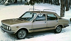 Fiat 132 post face lift with lots of snow.jpg