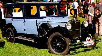 Fiat 520 - Image: Fiat 520 Berlina 1928 2