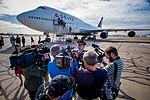 Final 747 Flight and Nuptials (38789343924).jpg
