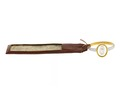 Fingerring av guld och emalj med kamé samt intyg, 1700-tal - Hallwylska museet - 110322.tif
