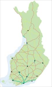 Moottoritiet Suomessa