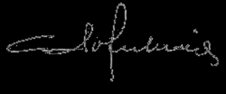 Adolfo Suárez - Image: Firmade Adolfo Suarez