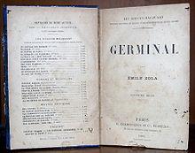 germinal novel wikipedia