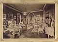 Fiume, József Károly Lajos főherceg kastélyának nagyszalonja. A felvétel 1895-1899 között készült. - Fortepan 83108.jpg