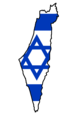 Flag map of Israel (including Palestinian territories and Golan Heights).png