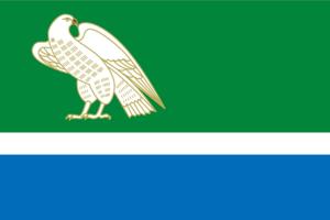 Meleuzovsky District - Image: Flag of Meleuz rayon (Bashkortostan)