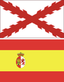 Flag of Spain and cruise of bourgundy.png