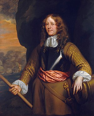 John Lawson (naval officer) - Admiral Sir John Lawson, part of the Flagmen of Lowestoft series by Sir Peter Lely