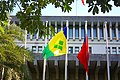 Flags of Saint Vincent and the Grenadines and the Republic of China 20100827.jpg