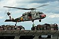 Flickr - Official U.S. Navy Imagery - Helicopter conducts a replenishment at sea.jpg