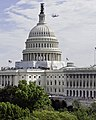 Flickr - USCapitol - Shuttle Discovery flying past the U.S. Capitol Dome.jpg