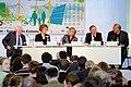 Flickr - boellstiftung - Panel, Ernst Ulrich von Weizsäcker, Jennifer Morgan, Barbara Unmüßig, Matthias Machnig, Jürgen Trittin (1).jpg