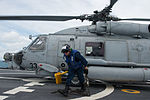 Flight operations aboard USS Fort Worth (LCS 3) 150110-N-DC018-130.jpg
