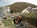 Flood prevention work at Boscastle bridge - geograph.org.uk - 563679.jpg