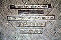 Floor plate, Malvern station weighing machine - geograph.org.uk - 1427472.jpg