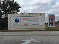 Florida Today sign (Gannett Building, Rockledge, Florida) 001.jpg