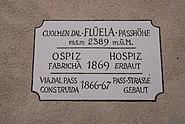 Fluelapass, plaque