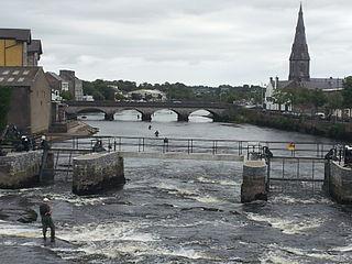Town in Connacht, Ireland
